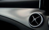 Mercedes-Benz CLA air vents