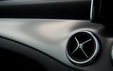 Mercedes-Benz CLA air vents