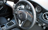 Mercedes-Benz CLA steering wheel