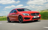 Mercedes-Benz CLA road test review - hero front