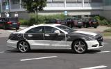 Next Mercedes CLS: new pics