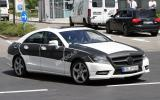 Next Mercedes CLS: new pics