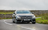 Mercedes-Benz CLS cornering