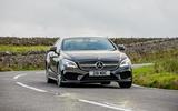 Mercedes-Benz CLS cornering
