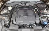 Mercedes-Benz CLS engine bay