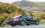 Mercedes-Benz CLS rear quarter