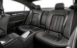 Mercedes-Benz CLS rear seats