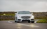 Mercedes-Benz CLS Shooting Brake cornering