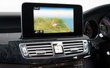 Mercedes-Benz CLS Shooting Brake infotainment system