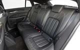 Mercedes-Benz CLS Shooting Brake rear seats