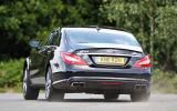 Mercedes-AMG CLS 63 rear cornering