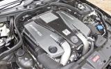 Mercedes-AMG CLS 63 engine bay