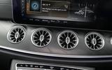 Mercedes-Benz E-Class Coupé air vents