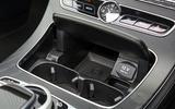 Mercedes-Benz E-Class Coupé cupholders
