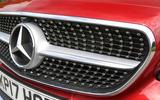 Mercedes-Benz E-Class Coupé front diamond grille