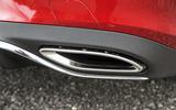 Mercedes-Benz E-Class Coupé exhaust system