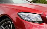 Mercedes-Benz E-Class Coupé LED headlights