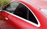 Mercedes-Benz E-Class Coupé sloping roofline
