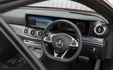 Mercedes-Benz E-Class Coupé steering wheel
