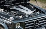 Mercedes-Benz G-Class engine bay