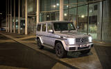 Mercedes-Benz G-Class at night