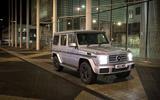 Mercedes-Benz G-Class at night