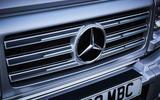 Mercedes-Benz G-Class front grille