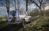 Mercedes-Benz G-Class rear