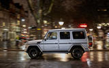 Mercedes-Benz G-Class side profile