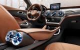 mercedes benz gla concept revealed autocar. Black Bedroom Furniture Sets. Home Design Ideas