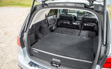 Mercedes-Benz GLE extended boot space