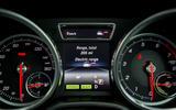 Mercedes-Benz GLE instrument cluster