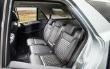 Mercedes-Benz GLE rear seats