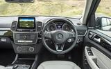 Mercedes-Benz GLS dashboard