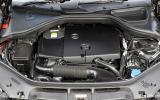 Mercedes-Benz ML250 diesel engine