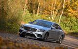 Mercedes-Benz S-Class cornering
