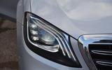 Mercedes-Benz S-Class LED headlights