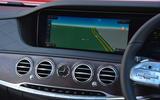Mercedes-Benz S-Class COMAND infotainment system