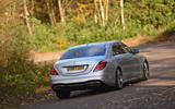 Mercedes-Benz S-Class rear cornering