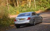 Mercedes-Benz S-Class rear cornering