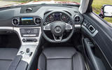 Mercedes-Benz SL dashboard