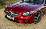 Mercedes-Benz SL front end