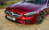 Mercedes-Benz SL front end