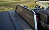 Mercedes-Benz SL wind deflector