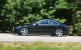 Mercedes-Benz C-Class side profile