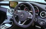 Mercedes-Benz C-Class steering wheel