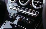 Mercedes-Benz C-Class switchgear