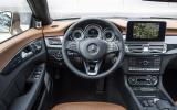 Mercedes-Benz CLS 350 dashboard