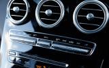 Mercedes GLC centre console