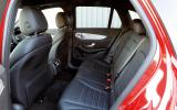Mercedes-Benz GLC rear seats